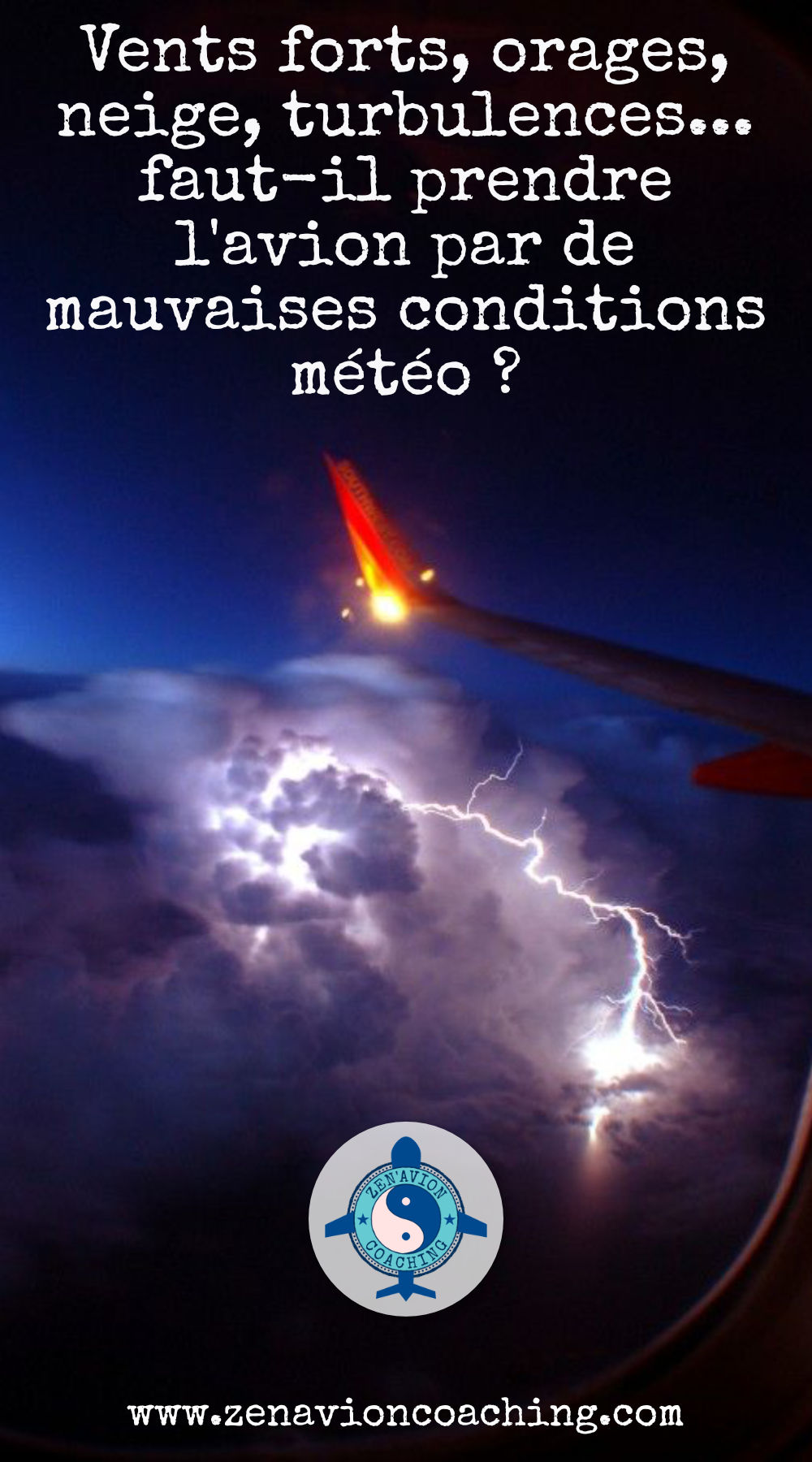 mauvaises conditions météo : faut-il prendre l'avion ?