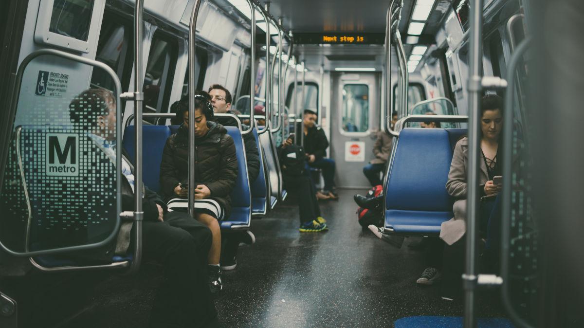 agoraphobie dans le métro