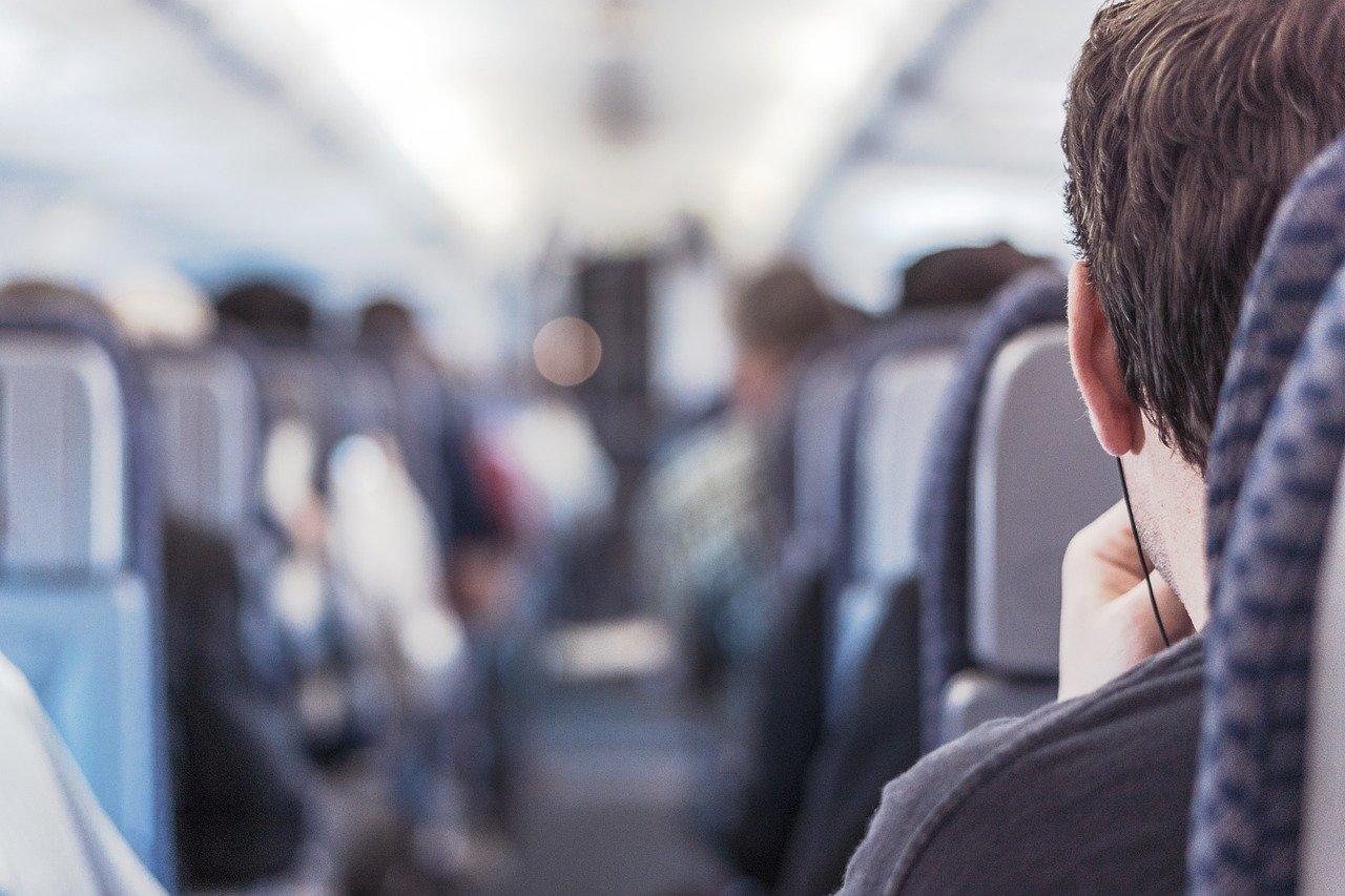 Le risque de transmission du coronavirus lors d'un voyage en avion est extrêmement faible