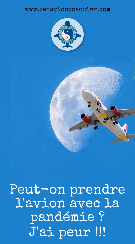 Peur avion et Covid-19